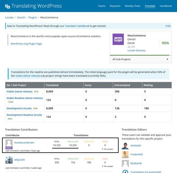 Med over 10.000 oversættelser af tekststrenge har jeg en indgående viden om, hvordan WooCommerce Webshop fungerer
