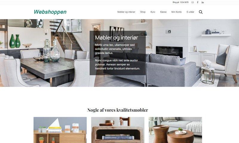 Webshop opsat i WooCommerce og WordPress giver mange muligheder for salg af varer online